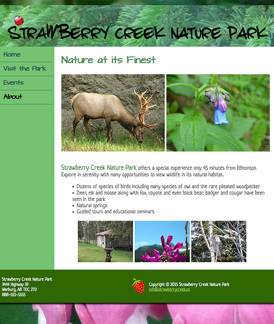 Strawberry Creek Nature Park